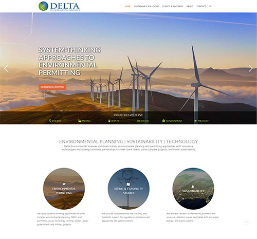 Delta Environmental Sciences Home Page